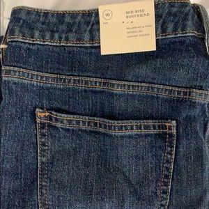 Mid-Rise Boyfriend Jeans 10